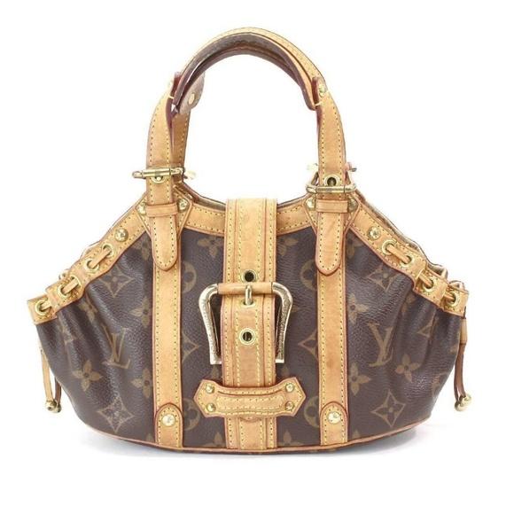 9ce9754a4652 Louis Vuitton Handbags - Louis Vuitton Theda GM Hand Bag Purse AUTHENTIC